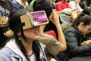 VR_Students at Auckland university