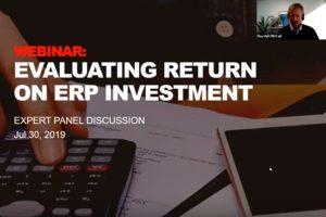 Return on ERP Investment