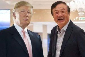 Ren Zhengfei vs Donald Trump