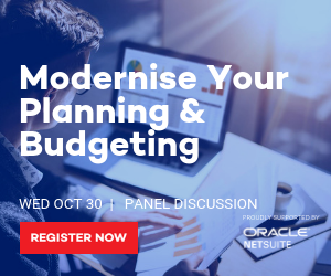 Modernise Your Planning & Budgeting - 30 October 2019