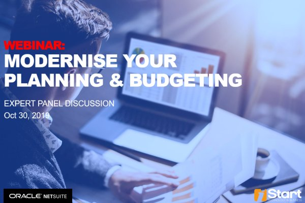 Modernise your planning and budgeting