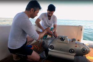 Underwater sub_marine mapping