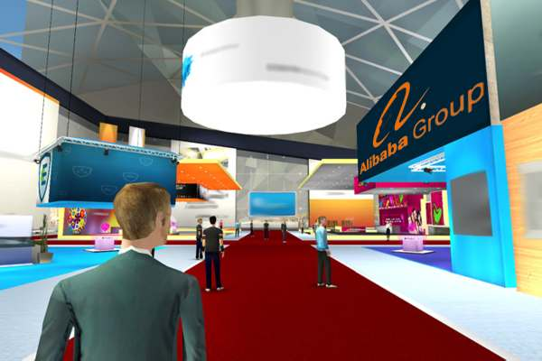 Trillion dollar Alibaba launches online trade shows