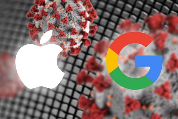 Apple and Google contact tracing