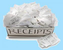 NAB paperless receipts
