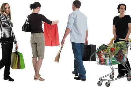 Customers-Shopping