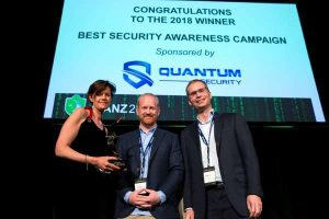 ANZ receives Best Security Campaign Award